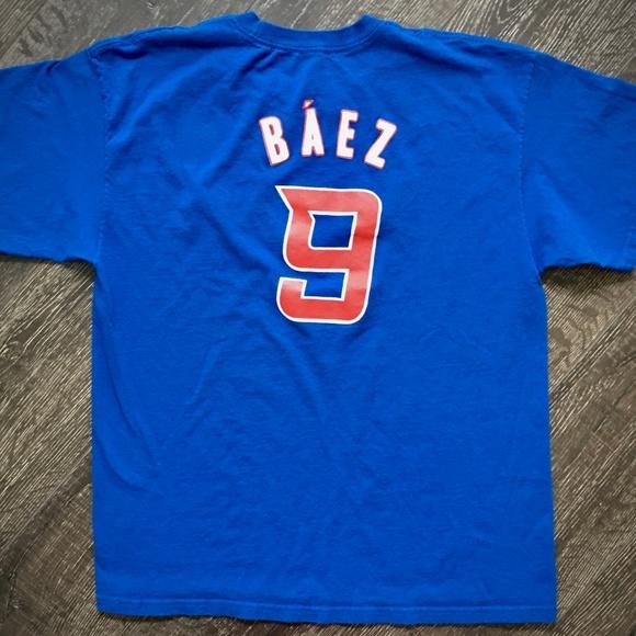 newest 980aa af735 Javy Baez Cubs El Mago Puerto Rico Jersey T-Shirt